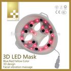 2014 Hot Sale 3D LED Skin Rejuvenation LED Facial Mask