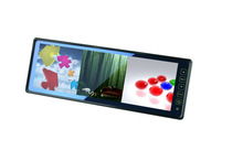 """DLS-102HD 10.2"""" Rearview Mirror Monitor with Touch Button Control, 25:8 Ratio, 640*RGB*250"""
