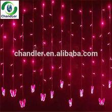 Rain Dropping LED Christmas Lights Wholesale/Holiday Time Christmas Lights /Waterproof Icicle String Light