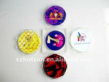 colorful Acrylic craft tea coaster