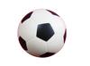 PU anti stress ball-soccer ball,black and white pu stress football