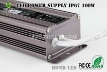 UL CLASS 2 LED POWER DRIVER 100W 12/24V waterproof LED POWER SUPPLY