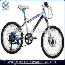 20 Inch 21 Speeds Aluminum Double Disc Line Brake Mountain Bikes