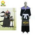 Bleach 2nd divisão tenente Omaeda Marechiyo Cosplay homens traje festa de Halloween Cos roupas