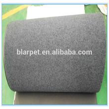 1200g Velour non woven carpet car floor mat with PVC spike backing