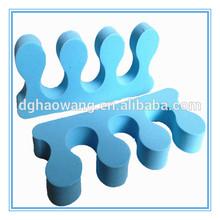 sky blue eva toe seperator for nail salon