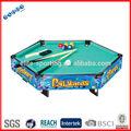 De cabeza hexagonal de madera mesa de billar, snooker mesa de juego para la diversión