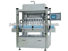 factrory price automatic washing detergent filling capping machine