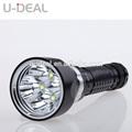 Liga de alumínio best-seller preto lanterna de mergulho