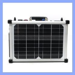 60W Solar Panel Suitcase Power Supply Practical Solar Kit