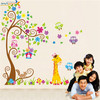 Removable wall decal childrens wall stickers 3d kids room decor girl room decor