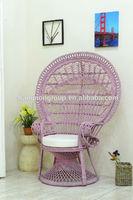 garden peacock cafe chair