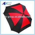 "30""*8K large market promotional square umbrella golf"