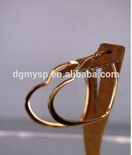 316 steel fashion heart shape protektor earring backs