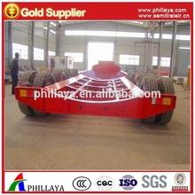 70 tons heavy duty wind power equipment / wind blade transport semi trailer