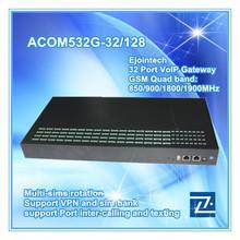 HOT SALE!! GoIP 32-128 gsm Roip gateway cdma 450mhz EBO with IMEI change