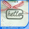 Good price Hello logo bookmark promotional item