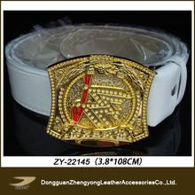 men belt with changeable smart buckles