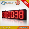 RF remote control 36 inch LED clock programmable led signs