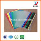 Hot sale PVC cover plastic sheet book cover plastic PVC sheet