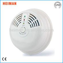 AC110V or 220V ceiling mounted round Heiman independent natural gas detector