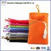 2014 handmade high quality custom velvet drawstring pouch bag for iphone