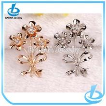 High quality cute resin flower branded brooch
