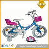 16inch White children seat bicycle for girl 10 years old child