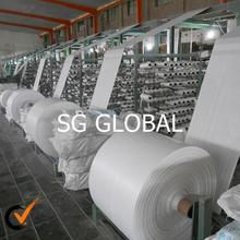 De China de la alta calidad laminado polypropelene pp de plástico de rafia con uv