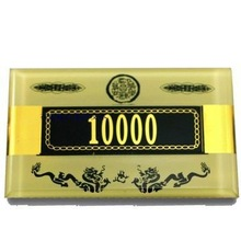Big Blind\Small Blind Dealer Button custom laser engraved wooden buttons