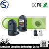 "mini car dashboard camera with 1.5"" TFT Screen + 120 Degree Wide Angle + G-sensor + Loop Recorder + Motion Detection"