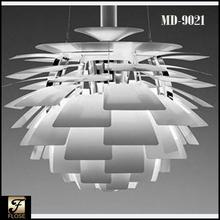 Flose MD-9021 classic sliver artichoke pendant lamp,modern sliver pendant lamp,modern sliver artichoke pendant lamp