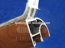 2014 new adhesive series haining lijialong sliding door self-stick weather striping