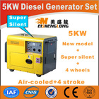 Super quality,5kW small silent diesel generator
