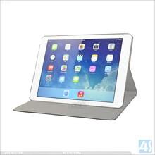 for ipad air 2 dual folded genuine flip leather case P-APPAIR2PUCA005
