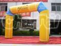 treinamento desportivo de alta qualidade a campanha de publicidade inflável acabamento linha do arco