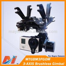 Maytech 3 axis gimbal for mini dji phantom 2 vision quadcopter