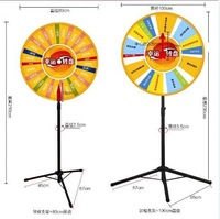 Wheel of Fortune\Lucky Turntable( for lottery\promotion activities)mini solar windmill with amorphous cell model