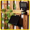 high lumen 60 Led solar adjustable garden motion sentry lamp for outdoor