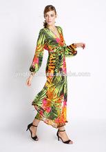 popular fashion design women long dress , wholesale women fashion clothing #OF140