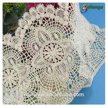 2014 newest design hot sales top quality guangzhou made super lace trim yard