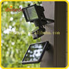 high lumen 60 Led solar garden motion adjustable wall lamp for outdoor