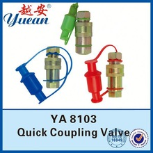 High Quality Latest duplex quick connect with bulkhead compression fitting stem