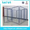 low MOQS heavy duty large galvanized heavy-duty dog run kennel