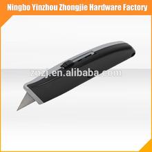 aluminium alloy Blade retractable box cutter knife