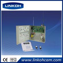 GSM/phone/network alarm gsm/pstn dual network home alarm