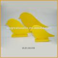 Amarillo color de aves de cerámica de porcelana estatuilla pájaro