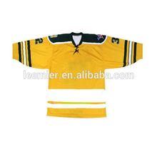 Designer best sell custom number on ice hockey shirts tops