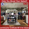 Utilisé verrouillage vitrine magasin de vêtements équipement