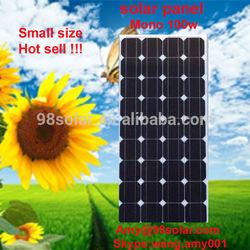 High quality Solar energy products, solar panel mono 100w